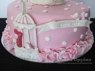 bolo com gaiola