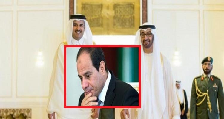 قطر والإمارات يتفقان لأول مرة على قرار خطير و صادم للغاية بشأن مصر