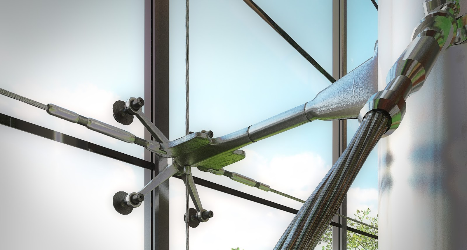 Spider Curtain Wall System : Spider clamp curtain wall system gopelling
