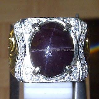 Cincin Batu Garnet Star - ZP 760