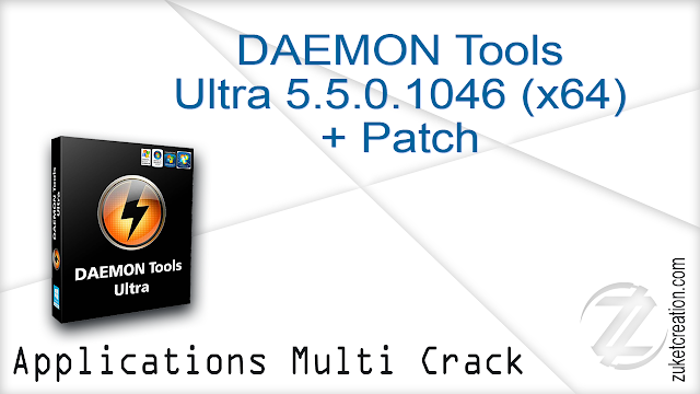 DAEMON Tools Ultra 5.5.0.1046 x64 + Patch      29.8 MB