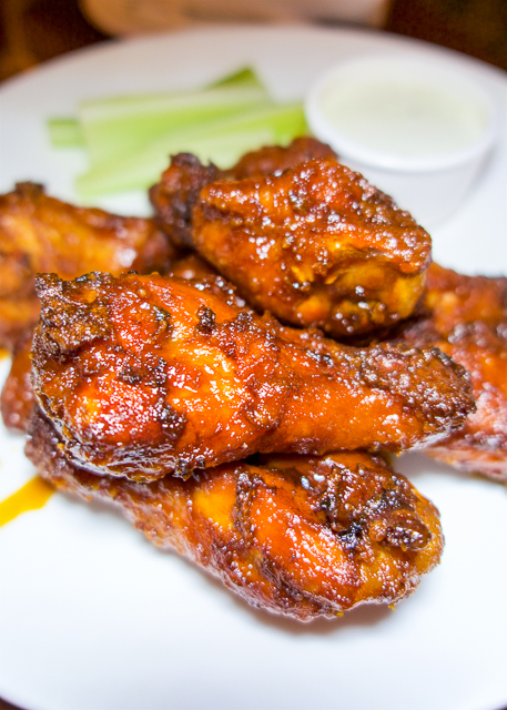 Sweet and Spicy Wings at The Ritz Carlton Amelia Island, FL