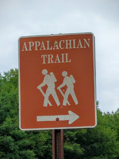 Trail sign in New Hampshire