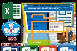Aplikasi Administrasi Data Siswa Format Microsoft Excel