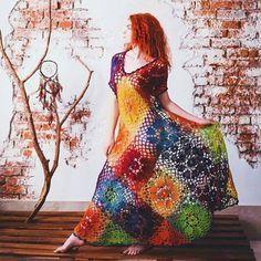 square grande vestido
