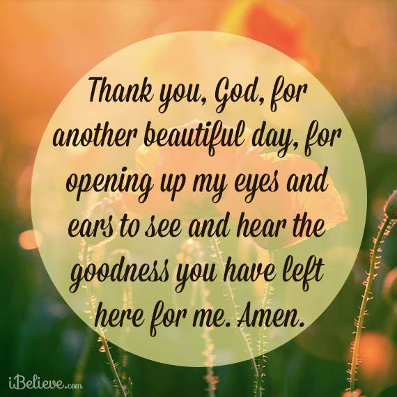BRIAN TODD BLOG: Thank you God for another beautiful day