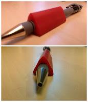 Pen met verdikker voor reumahanden