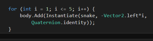 [TUTORIAL] Snake com Unity + C# Untitled-10