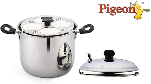 Pigeon Stainless Steel 6-Plates Idly Maker for Rs.799 Only (Limited Period Deal)