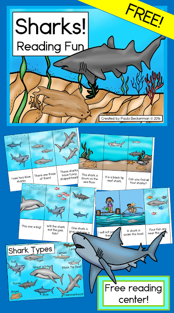 https://www.teacherspayteachers.com/Product/Sharks-Reading-Fun-Reading-Center-2607044