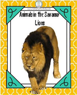 https://www.biblefunforkids.com/2018/09/god-makes-savanna-animals-lions.html