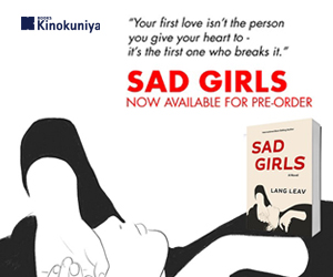 Kinokuniya~ Sad Girls by Lang Leav