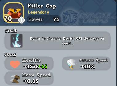 World of Legends - Killer Cap