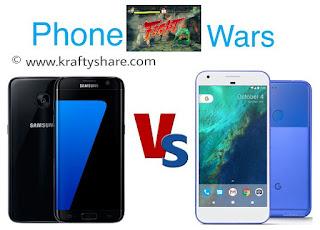 Samsung Galaxy S7 Edge vs Google Pixel XL