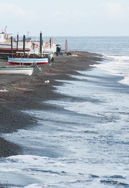 Plajele de pe Stromboli, Sicilia