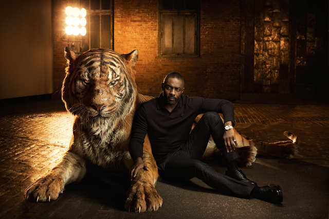 Idris Elba în rolul tigrului Shere Khan