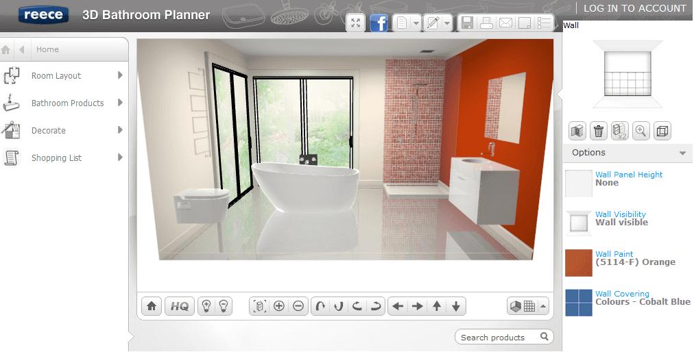 program do projektowania łazienki