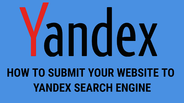 How to submit your website to yandex Russian search engine using webmaster tool