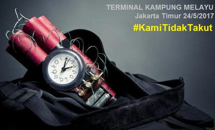 Foto & Video Viral Bom Di Terminal Kampung Melayu Hebohkan Netizen
