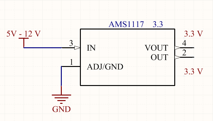 Electronics and Technology: 3.3 V , Voltage Regulator IC