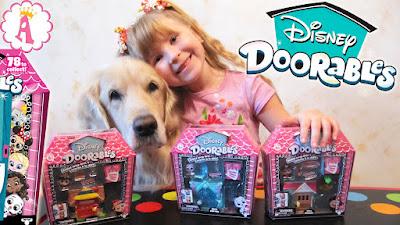 Мини-домики с игрушками Disney Doorables