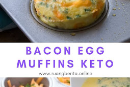 Bacon Egg Muffins Keto