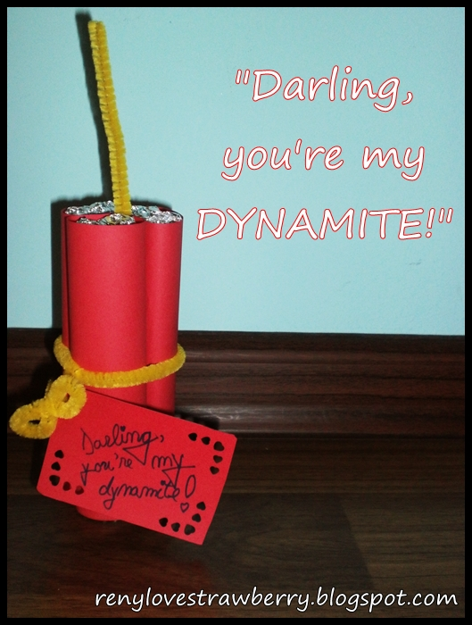 ae4e5d78acff6 Strawberry Love by Reny: Darling You're My Dynamite!