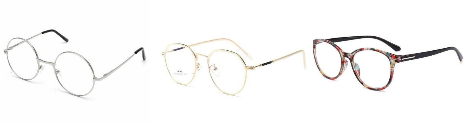 circle lens glasses harry potter style