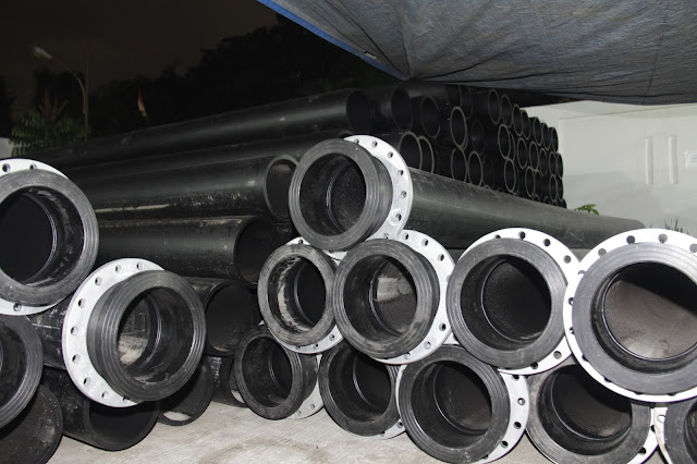 Spool pipe hdpe