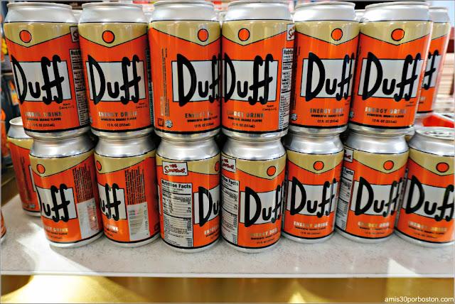 Cerveza Duff en la FAO Schwarz del Rockefeller Plaza, Nueva York