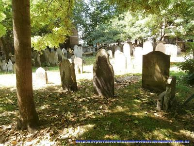 Tumbas del Cementerio de Bunhill
