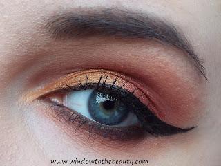 ciepło brązowy makijaż