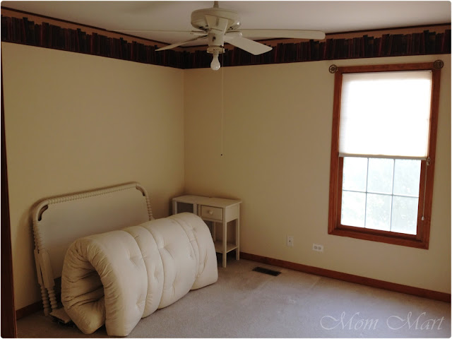 Before - fourth bedroom