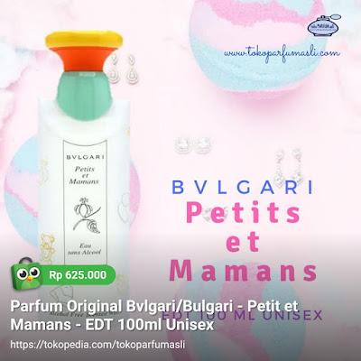 toko parfum asli parfum original bvlgari petit et mamans edt 100ml kid unisex