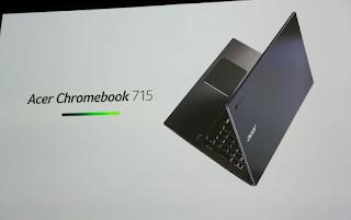 Harga dan Fitur Acer Chromebook 715 dan Acer Chromebook  714  terbaru 2019