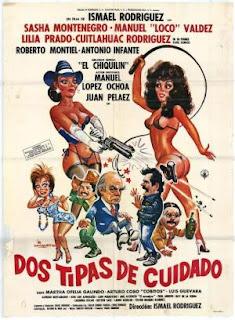Dos tipas de cuidado (1989) Comedia con Sasha Montenegro