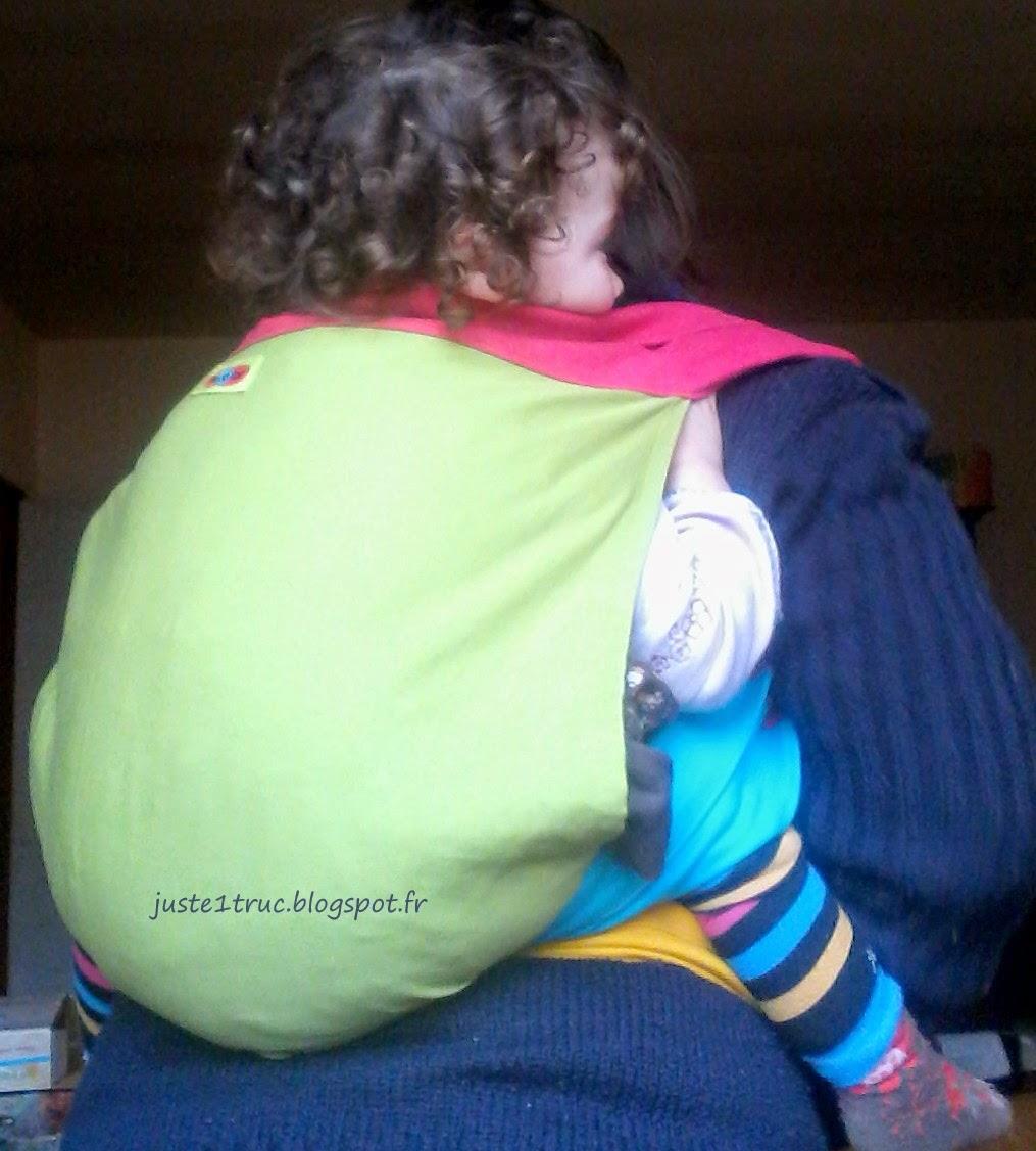 podeagi psicolor portage babywearing porte-bébé asiatique test