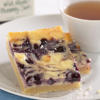 Welcome To Bonnes Amies!: Blueberry Cheesecake Squares