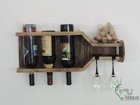 Ideas en madera para almacenar el vino