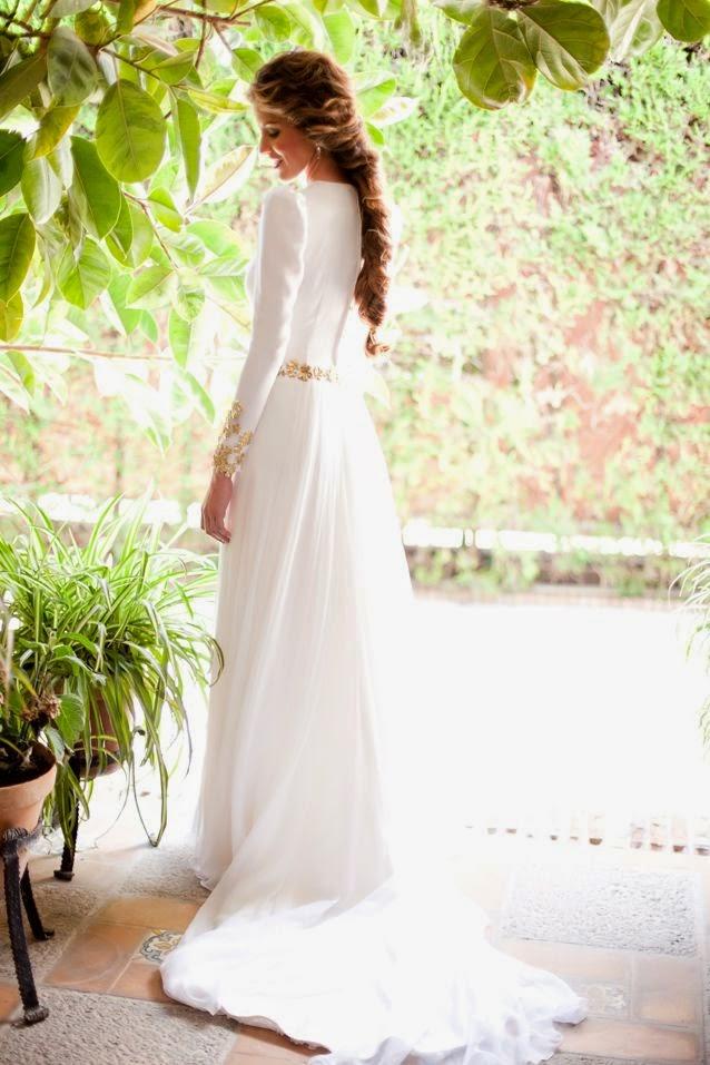 manga larga para novias - quiero una boda perfecta - blog de bodas
