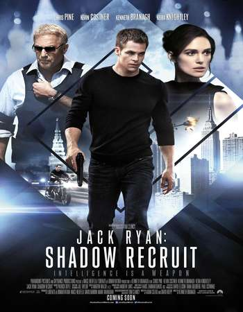 Poster Of Jack Ryan: Shadow Recruit 2014 Dual Audio 720p BluRay [Hindi - English] ESubs Free Download Watch Online downloadhub.in