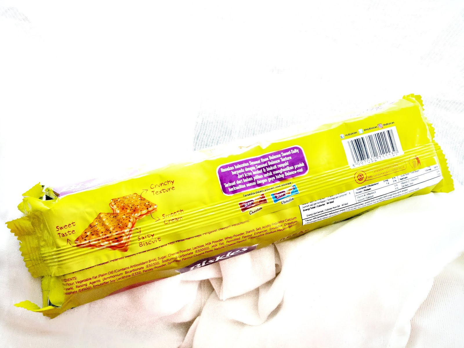 Biskies - Biskuit keju