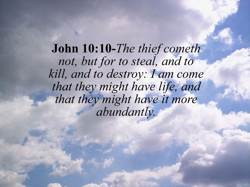 WORD4TODAY - Daily Bible Verse: ABC - Abundant Life in Christ