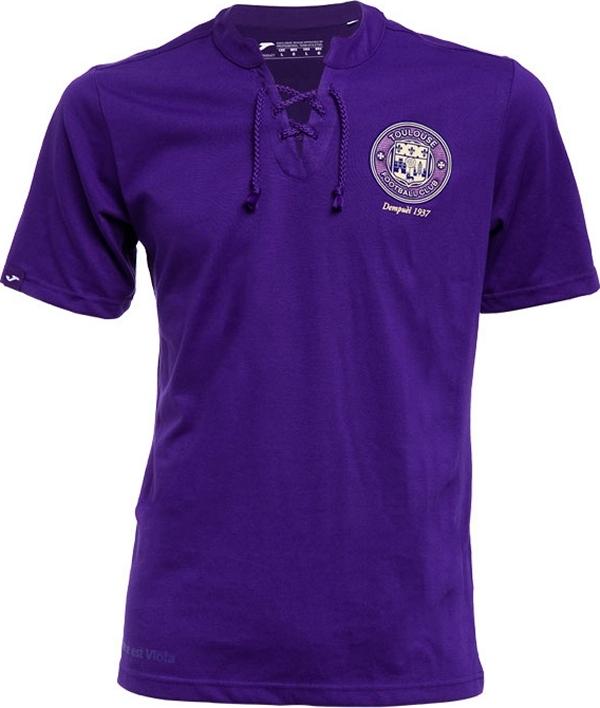 23006bd42d Joma lança camisa retro para o Toulouse - Show de Camisas