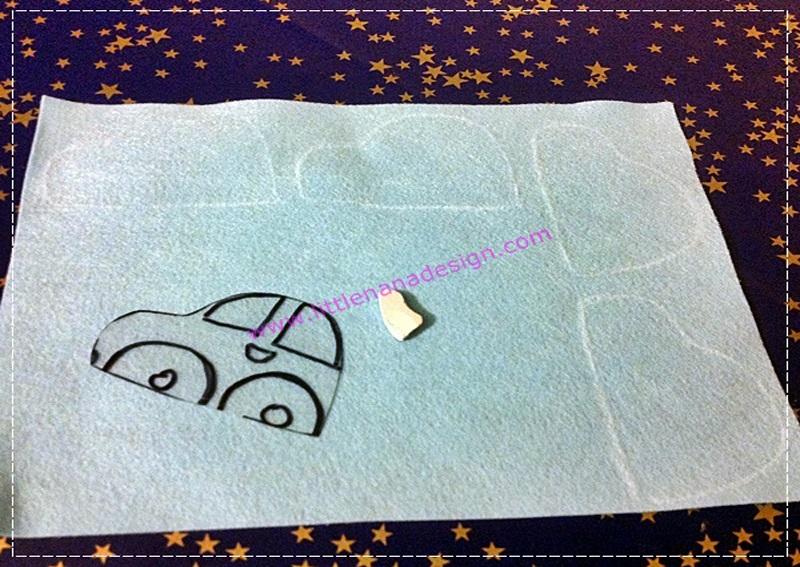 DIY cortinas de coches para niño