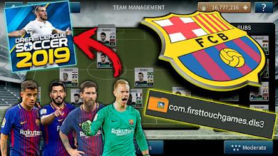 download logo barcelona dream league soccer 2019