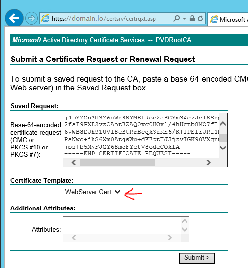 Certificate template not appearing certsrv choice image wiki style faq it knowledge base upgrade windows 2012 r2 root ca copy csr file content yadclub Choice Image