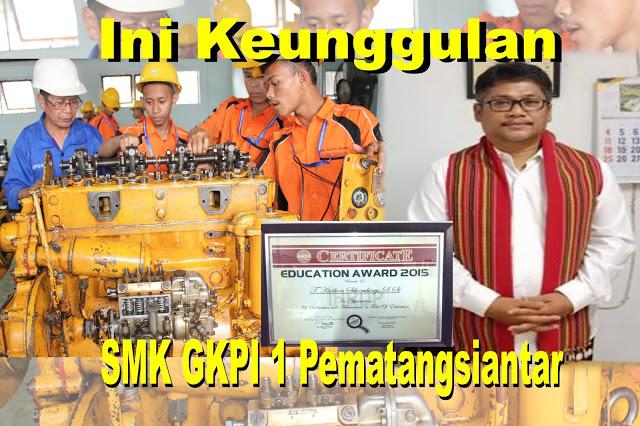 SMK GKPI 1 Pematangsiantar Kerjasama 3 Negara, Ini Keunggulan Sekolahnya