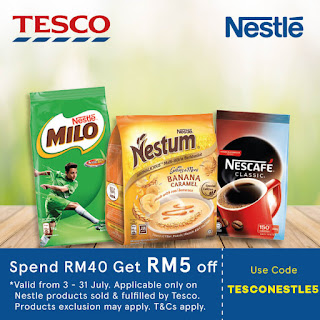 Lazada Voucher Code Malaysia Tesco Nestle Products