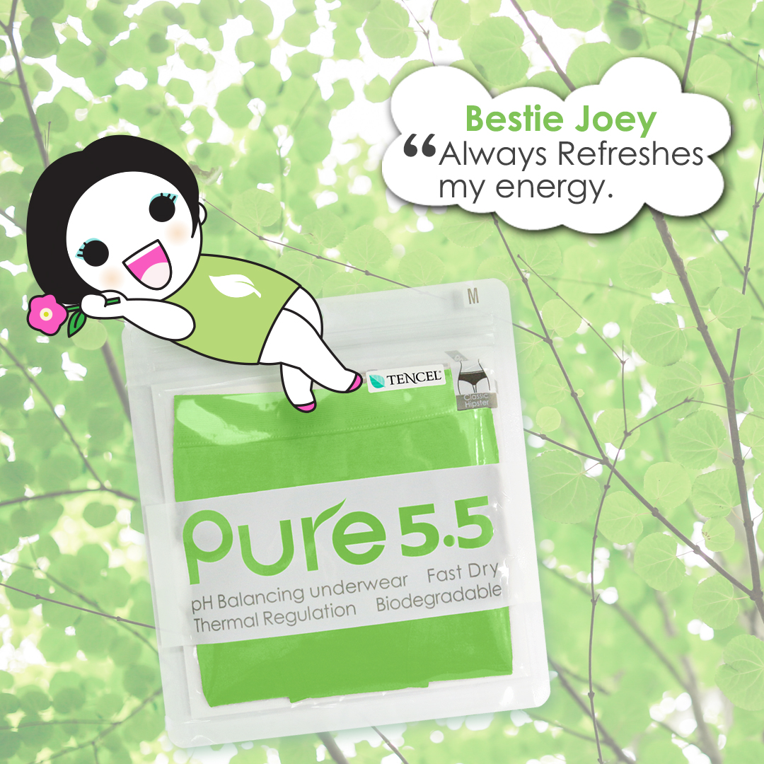 aPure Pure55 pH Balancing Underwear - Your Best Besties!